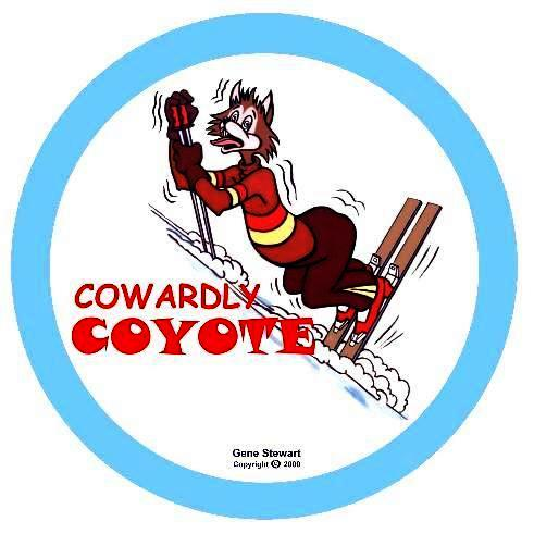 Cowardly Coyote, T-Shirt design