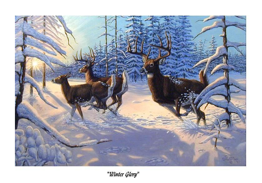 """Winter Glory"", print"